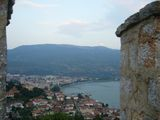 View on the Ohrid from the Samuil's Fortress